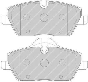 Plaquettes de frein Ferodo DS Perf BMW 1 E87 116 i 85 2004>07 FDS1747