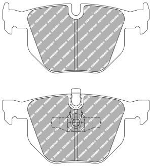 Plaquettes de frein Ferodo DS Perf BMW Série 3