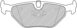 Plaquettes de frein Ferodo DS Perf BMW Série 3 tout type AR FDS1301