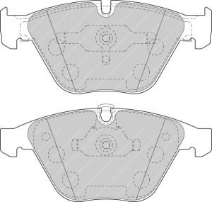 Plaquettes de frein Ferodo DS Perf BMW Série 5 Avant FDS1628
