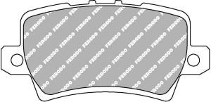 Plaquettes de frein Ferodo DS Perf Honda Civic IX et VIII