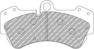 Plaquettes de frein Ferodo DS Perf Porsche Cayenne