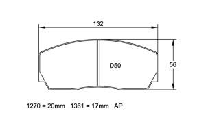 Plaquettes de frein Pagid RSL29 BMW M3 E92 GT4 race version AN 09- AR