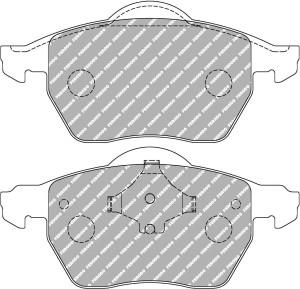 plaquettes de frein ferodo racing ds2500 pour vw audi seat skoda. Black Bedroom Furniture Sets. Home Design Ideas