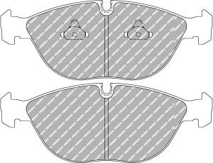 Plaquettes Ferodo DS2500 AUDI A4 Avant RS4 quattro AN 05-00 > 09-01