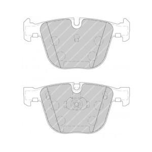 Plaquettes Ferodo DS2500 FCP1672 Bmw M3 e92 AR