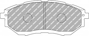 Plaquettes Ferodo DS2500 SUBARU Impreza 2.0 WRX AN 01-15 > AV