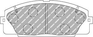 Plaquettes Ferodo DS2500 TOYOTA HIACE AN 01-93 > 12-03 AV