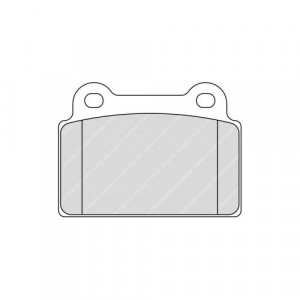 Plaquettes Ferodo DS3000 FCP4168 Mitsubishi Evo X Ar