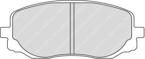 Plaquettes Ferodo DS3000 KIA Picanto AN 01-05 > AV