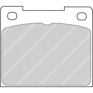 Plaquettes Ferodo DS4003 FCP809 Citroen C2 R2 206 S1600 208 R2 Ar