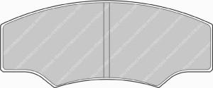 Plaquettes Ferodo DS Perf FDSR218 Citroen Saxo 1.6 Challenge AV