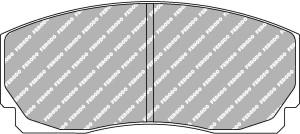 Plaquettes Ferodo DSUNO FRP203 AP Racing CP2270/CP2271 15 mm