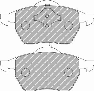 Plaquettes Ferodo Racing DS2500 Audi A6 2.4 30V Quattro '97>04