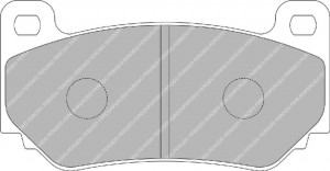 Plaquettes Ferodo Racing DS 1.11. FRP3085W