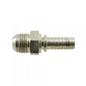 Raccord BSP 1/2x14 - male - Push fit - acier - pour tuyau NDEH12