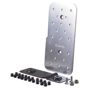 Repose pied pilote Sparco Reflex aluminium plat