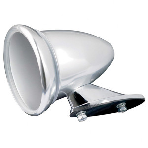 Rétroviseur Obus Inox poli miroir diamètre 90mm la pièce