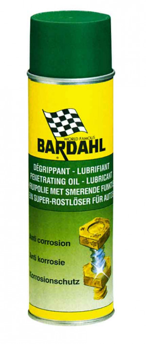 Spray dégrippant lubrifiant action immédiate Bardahl 400ml