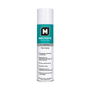 Spray graisse Molykote CU-7439 Plus molybdène/cuivre -30°/+650°C 400ml