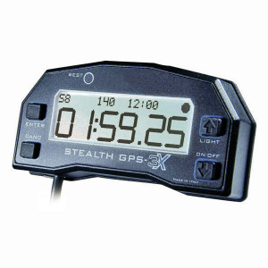 Stealth GPS-3X Lite chronometre, compteur de tour, GPS