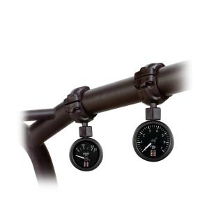 Support 1 manomètre Stack fixation sur arceau diamètre 40mm