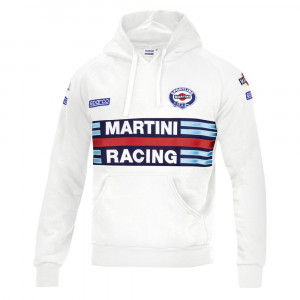 Sweat shirt à capuche Hoodie Martini Racing