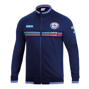 Sweat shirt zippé Sparco Martini Racing