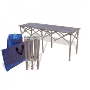Table Pliante 100% Alu 2m x 50cm
