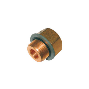 Adaptateur de filetage male 1/4NPT / male 1/8BSP conique