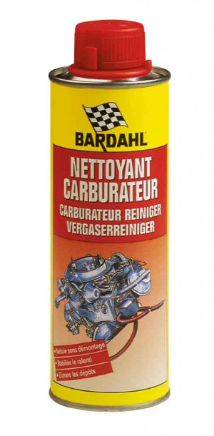 Additif Bardahl nettoyant carburateur essence - bidon de 500ml