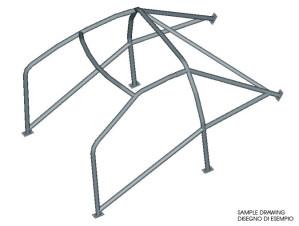 Arceau Seat Ibiza 4 - multipoints à souder RAC - 25CD4S - Omp