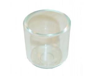 Bocal verre pour filtre King diamètre 67mm