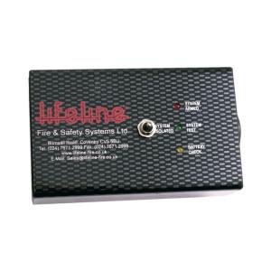 Boitier de contrôle pour extincteur électrique Lifeline - coloris noir