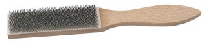 Brosse pour lime 210 mm