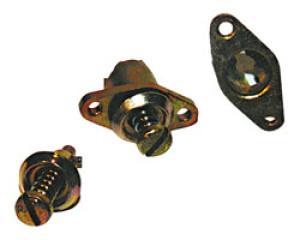Camloc axe - épaisseur totale de serrage 6.1 > 6.8mm - hauteur 24.5mm