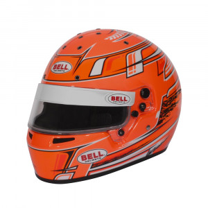 Casque Bell 2021 KC7-CMR CHAMPION Orange CMR2016