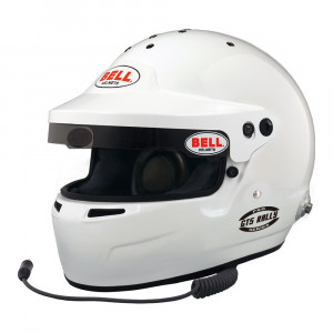 Casque intégral Bell GT5 Rally clips + radio Snell SA2015 FIA8859-2015