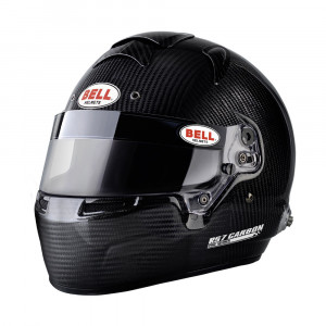 Casque intégral Bell RS7 Carbon clips hans Snell SA2015 FIA8859-2015