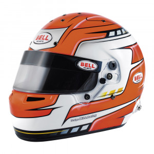 Casque intégral Bell RS7 Pro Red Falcon clips hans SA2015 FIA8859-2015