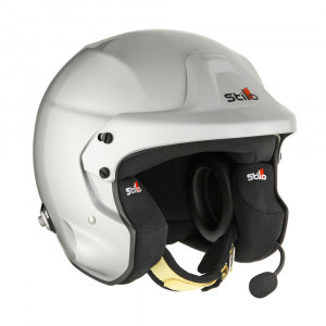Casque jet Stilo Trophy DES Plus clips Hans SA2015 FIA8859-2015