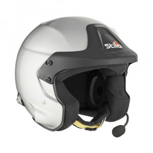 Casque jet Stilo Trophy DES Rally clips Hans SA2015 FIA8859-2015