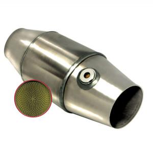 Catalyseur FIA compétition - diamètre 63.5mm - 100cpsi jusqu'à 4000cm3