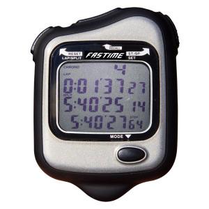 Chronometre Fastime 27 noir 80 tours en mémoire