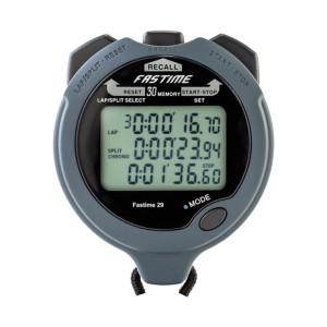 Chronometre Fastime 29 noir 30 tours en mémoire