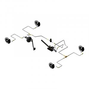 Circuit hydraulique Gr.A/F Lancia Delta Intégrale origine