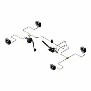Circuit hydraulique Gr.A/F Renault Clio 1 2 3/Megane/Peug 106/Saxo-306