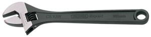 Clé à molette 300mm ouverture 38mm graduée acier bruni