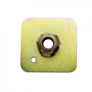 Contre plaque de fixation de harnais 7/16x20 65x65x3mm FIA