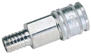 Coupleur d'air à emmancher pour tuyau diamètre intérieur 8 mm